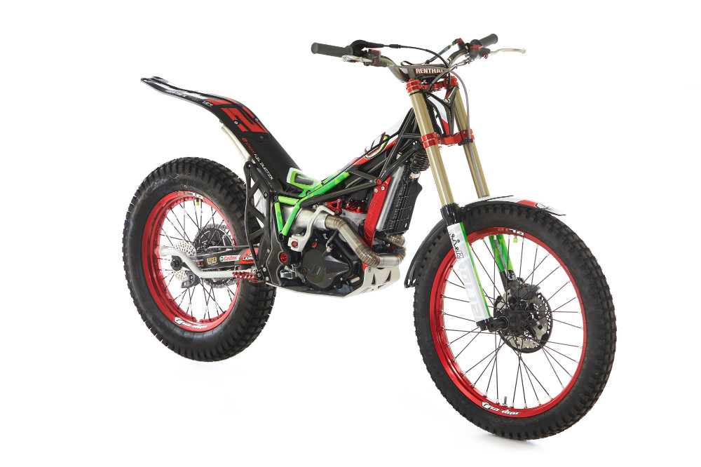 New Vertigo DL12 Dougie Lampkin Replica